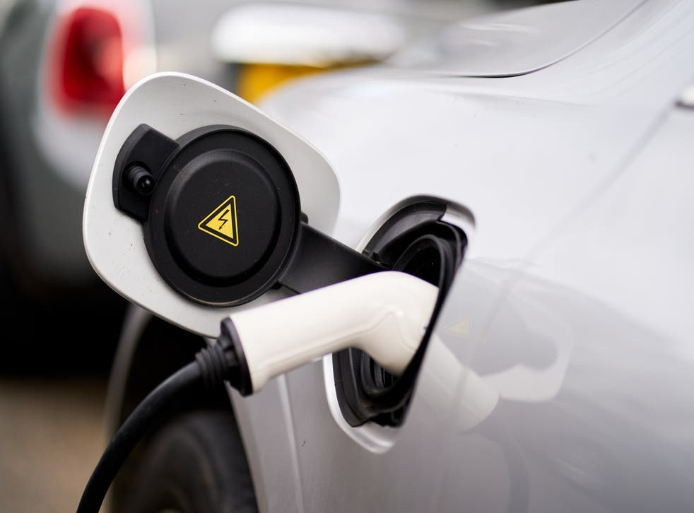 The number of electric vehicles on the UK's roads may increase 28-fold to 14 million by 2030 (John Walton/PA)