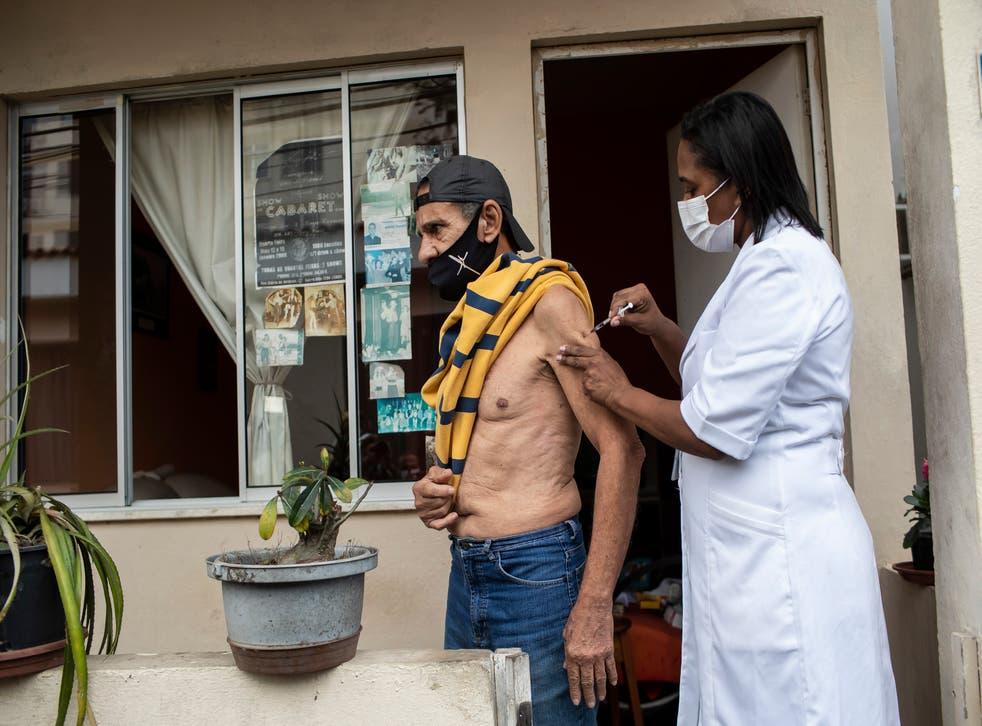 Virus Outbreak Brazil Booster