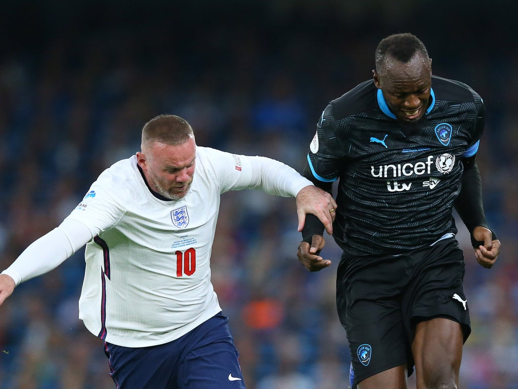 Soccer Aid LIVE: Result and latest reaction as Kem Cetinay helps World XI past England at Etihad Stadium thumbnail