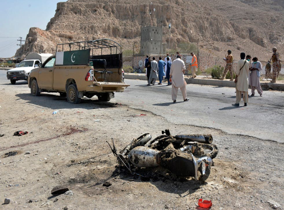 APTOPIX Pakistan Attack