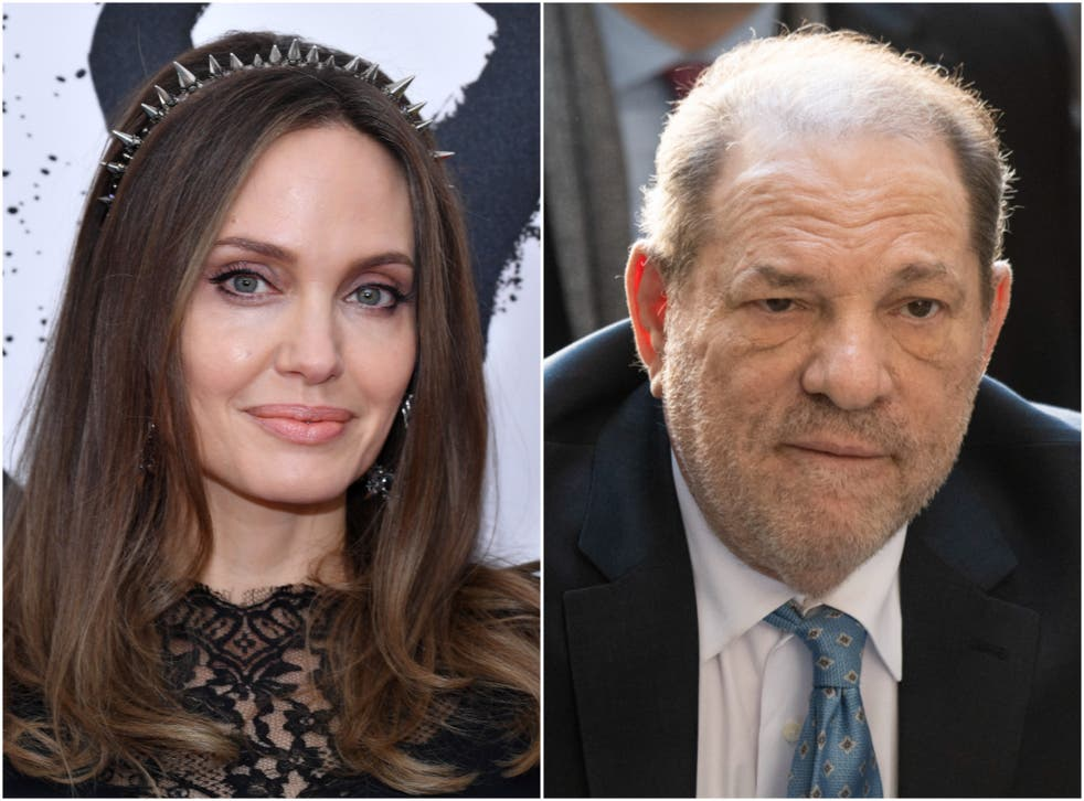 <p>Jolie made the claims about Weinstein in a new interview</p>