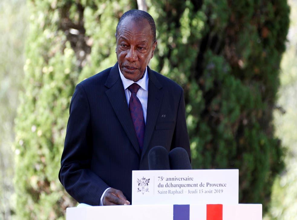 GUINEA-CRISIS POLITICA