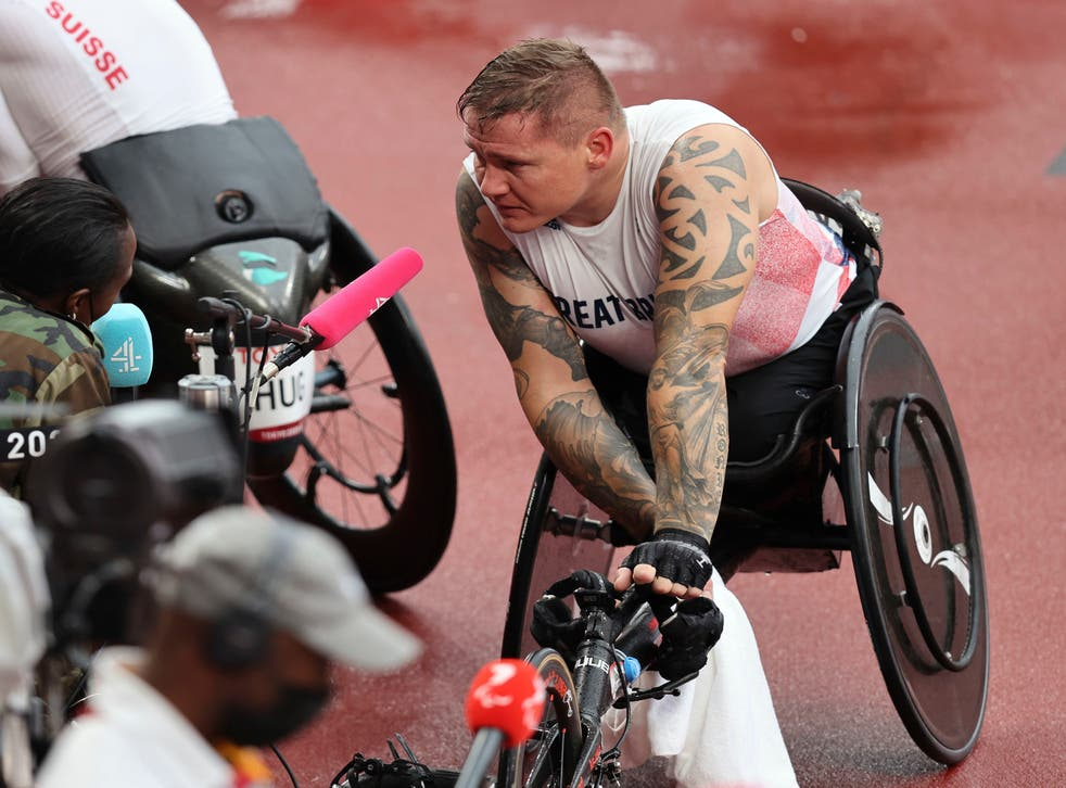 <p>David Weir is angry at the state of his sport </p>