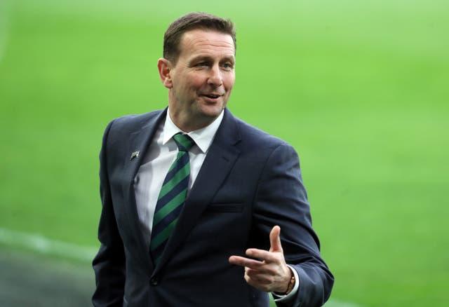 Ian Baraclough's Northern Ireland claimed a friendly win over Estonia on Sunday