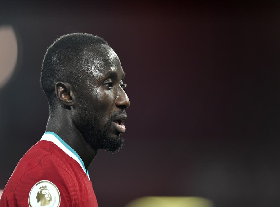 <p>Liverpool midfielder Naby Keita was taken off after 45 minutes during their win over Norwich </p>
