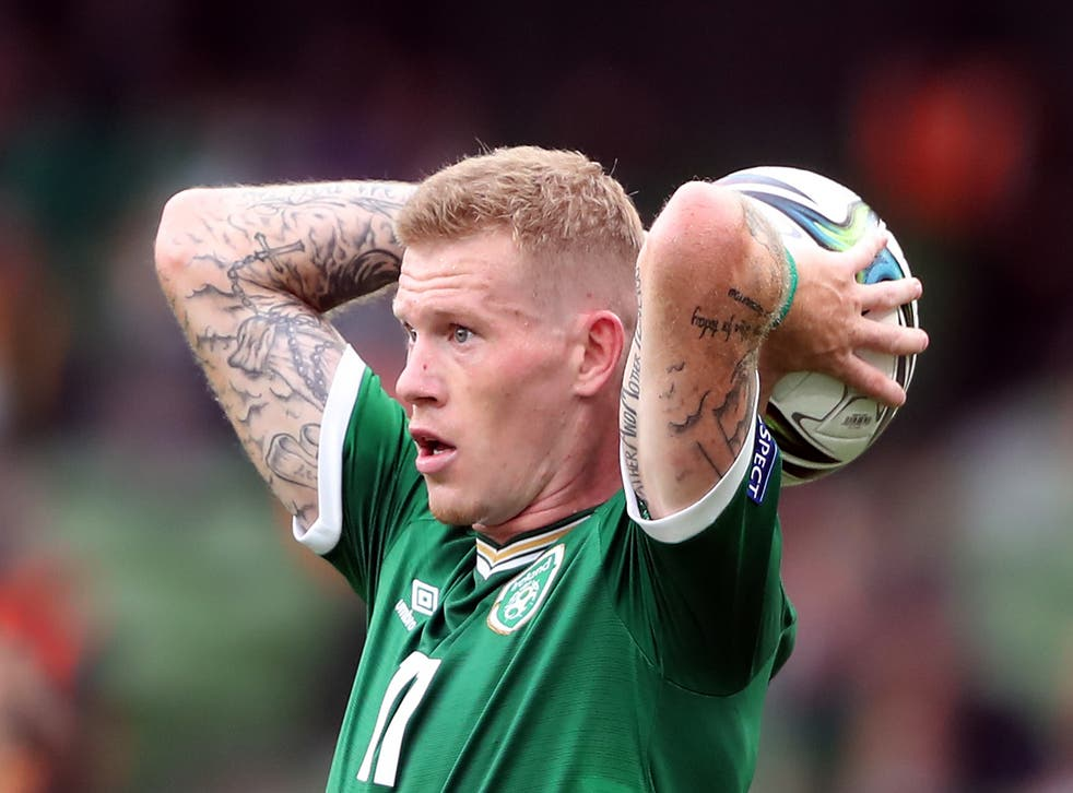 Republic of Ireland's James McClean has pleaded for patience as manager Stephen Kenny implements his plans (Niall Carson/PA)