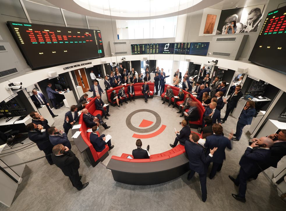 The London Metal Exchange reopened to traders on Monday (Yui Mok/PA)