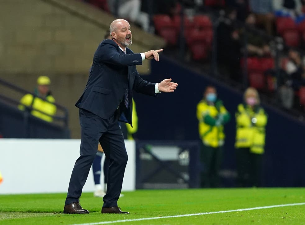 Steve Clarke's side appear to be in a battle for second (Andrew Milligan/PA)