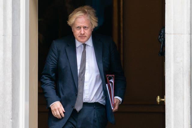 Boris Johnson (Dominic Lipinski/PA)
