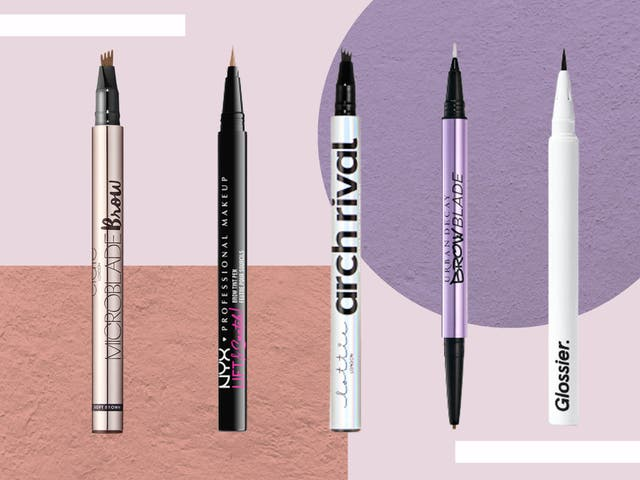 <p>We judged our favourites based on how easy they were to use, and how well they mimicked the microbladed effect</p>