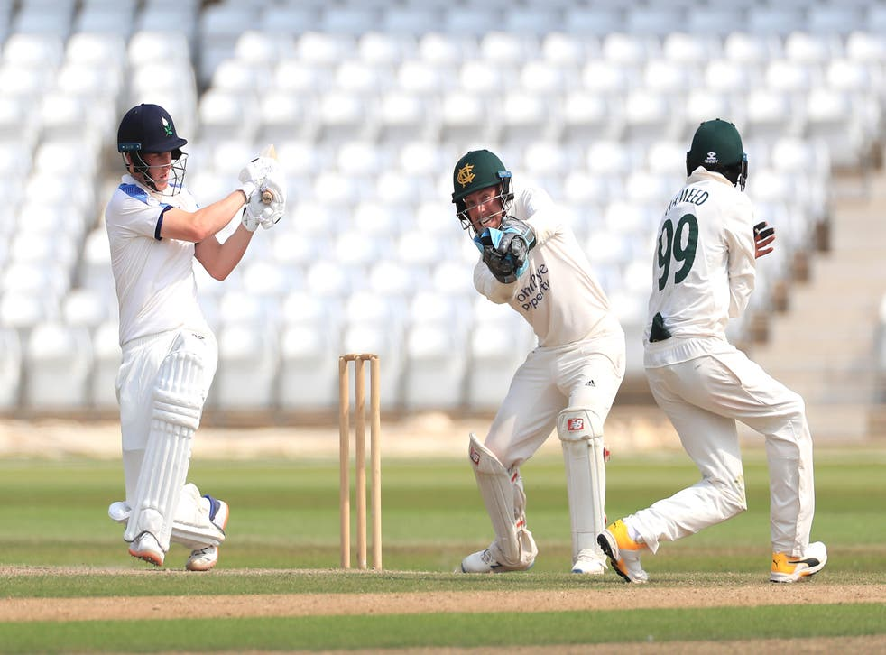 Harry Brook hit a century for Yorkshire (Mike Egerton/PA)