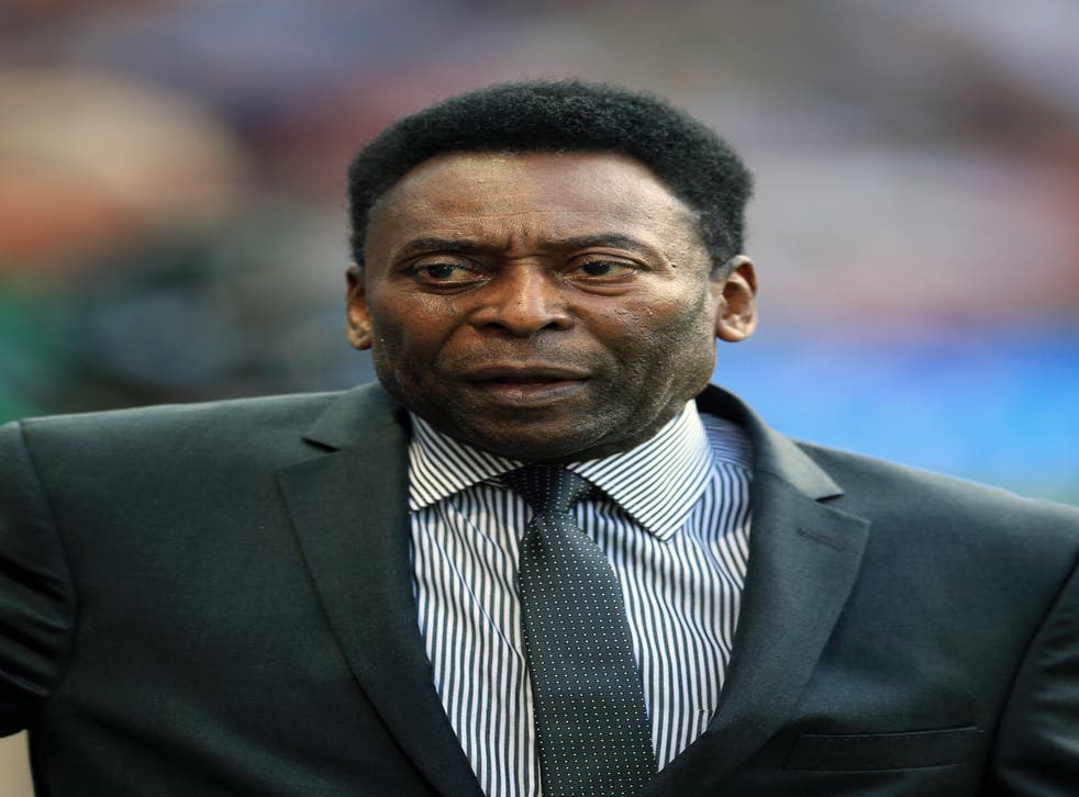 Pele has revealed recent surgery (Nigel French/PA)
