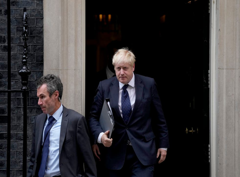 <p>Boris Johnson will face down his critics by vowing not to 'duck the tough decisions' </p>