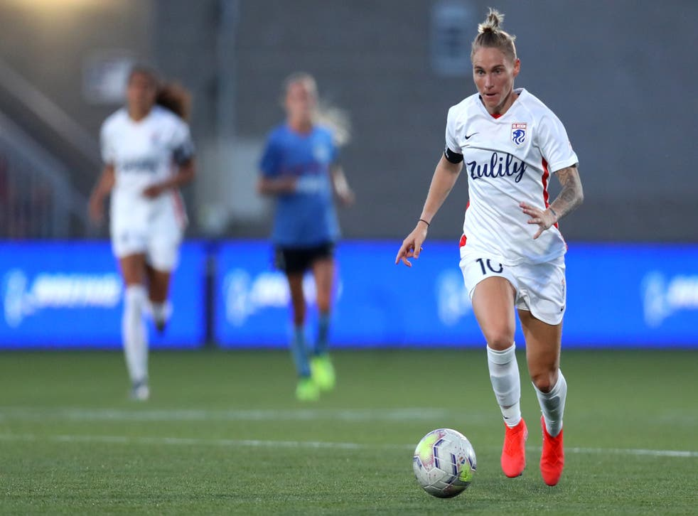 <p>Jess Fishlock is one player who has spoken out about the Championship conditions</p>