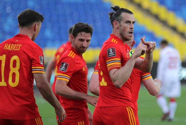 Wales are seeking to build on their World Cup qualifying win over Belarus against Estonia on Wednesday (Alexey Nasyrov/AP)