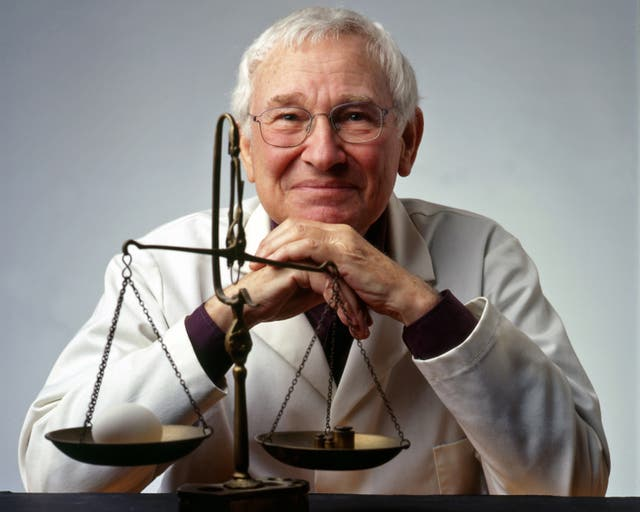 <p>Dr Wolkes was a fountain of fascinating scientific food facts </p>
