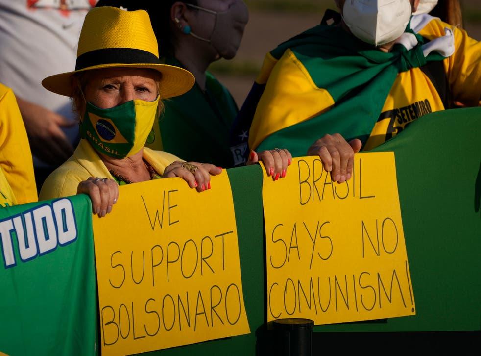 BRASIL-MANIFESTACIONES