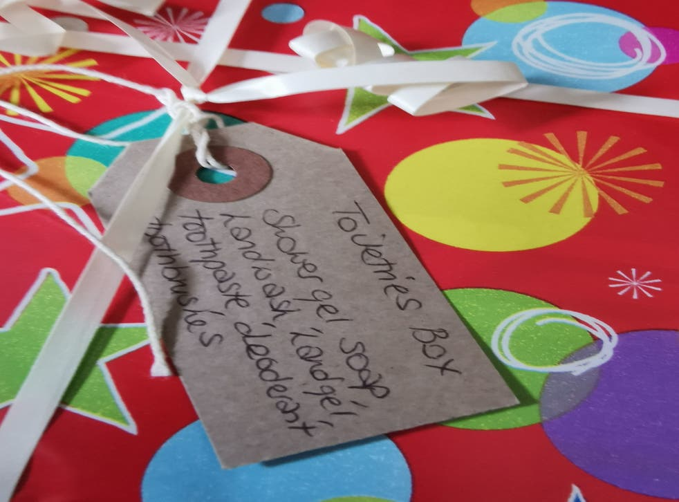 <p>Ems4Afghans has been providing shoeboxes and care packs to Afghans arriving in the UK </p>