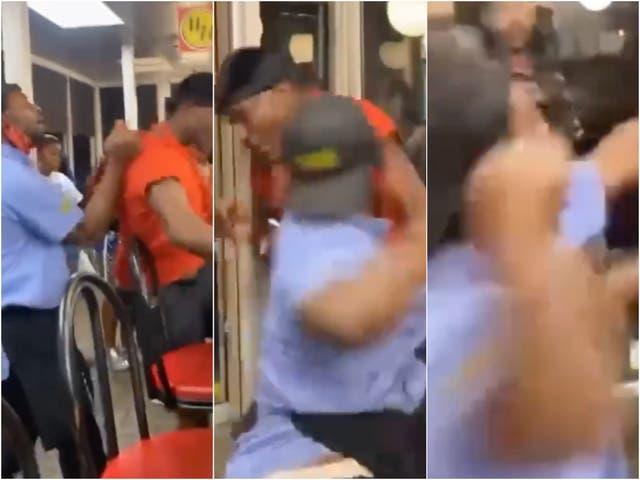 Una pelea entre un cliente y un empleado en un Waffle House en Atlanta, Georgia se volvió viral
