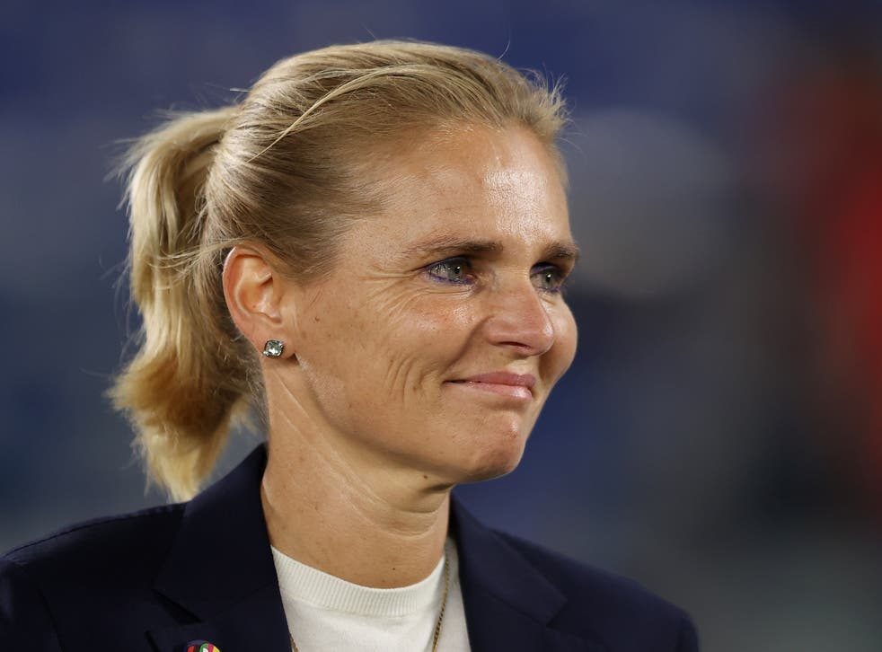 <p>Sarina Wiegman has left her role as Netherlands coach to lead England Women</p>