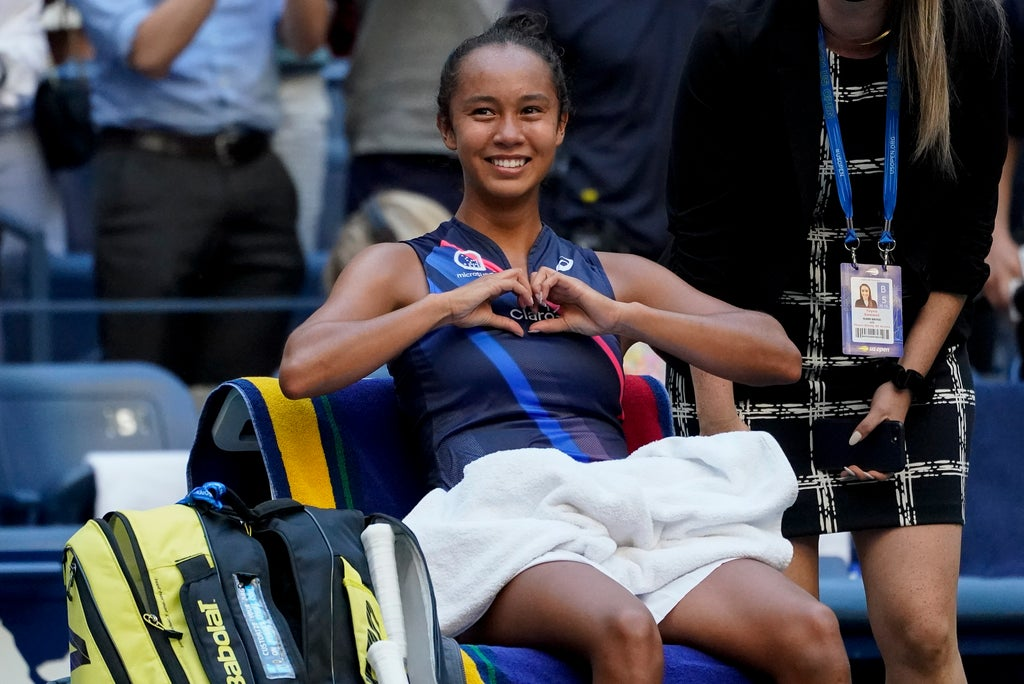 US Open day nine: Leylah Fernandez into last four after overcoming another seed thumbnail