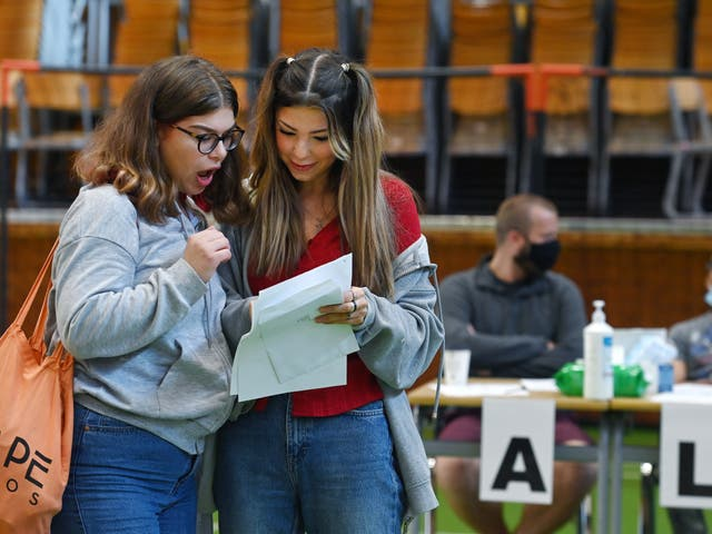 <p>A record number of students achieved the top A-level grades this year</p>