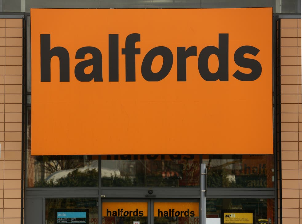Retailer Halfords has revealed plunging cycling sales as it suffers amid an ongoing shortage of bikes due to supply chain troubles (PA)