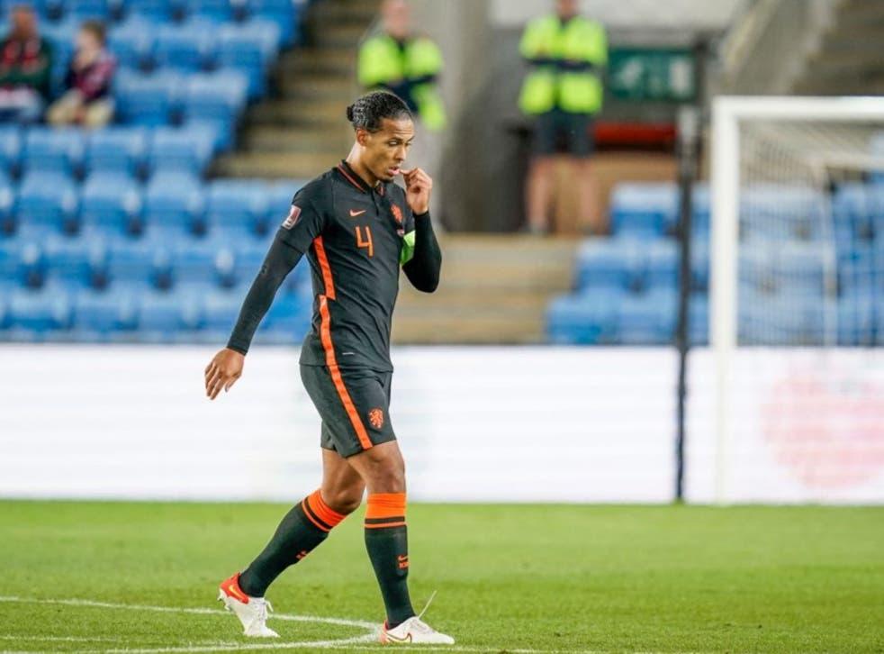 <p>Netherlands captain Virgil van Dijk</p>