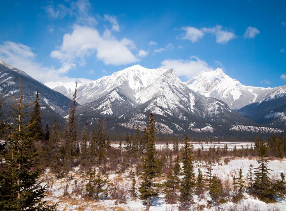 Esplanade Mountain, Jasper National Park, Alberta (Alamy/PA)