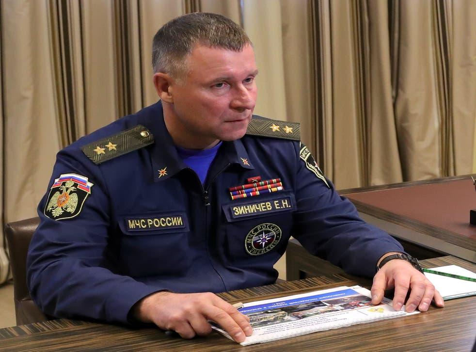 RUSIA MINISTRO-DECESO