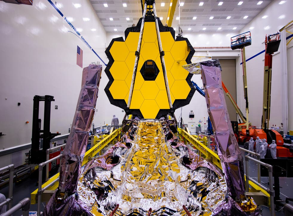 <p>The telescope will be the largest and most powerful ever launched into space (Chris Gunn/Nasa)</p>
