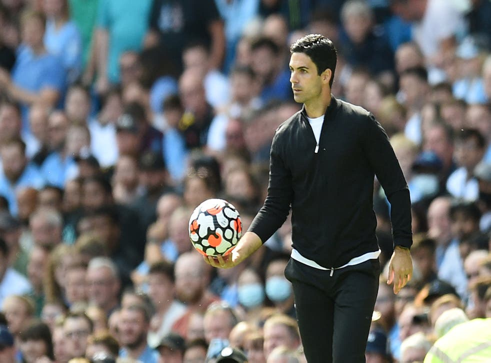 <p>Arsenal manager Mikel Arteta is already under pressure after his side's poor start  </p>