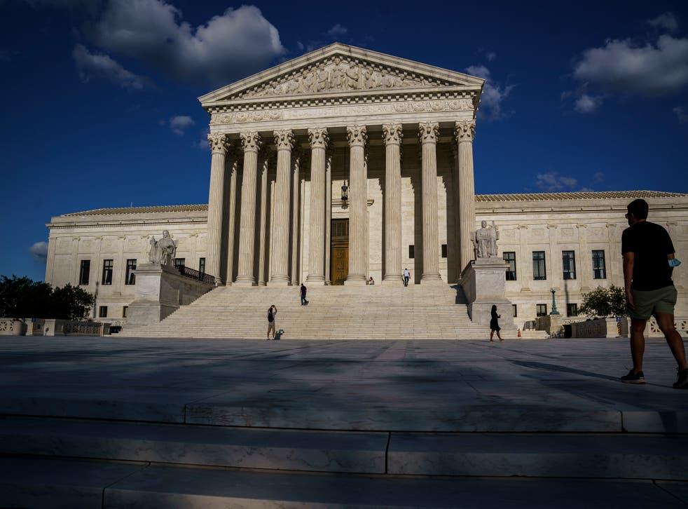 Supreme Court Back in Person