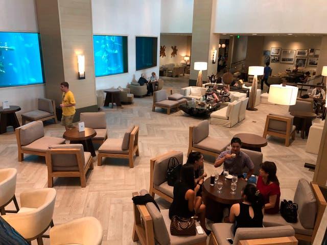 Virus Outbreak-Hawaii Hotels