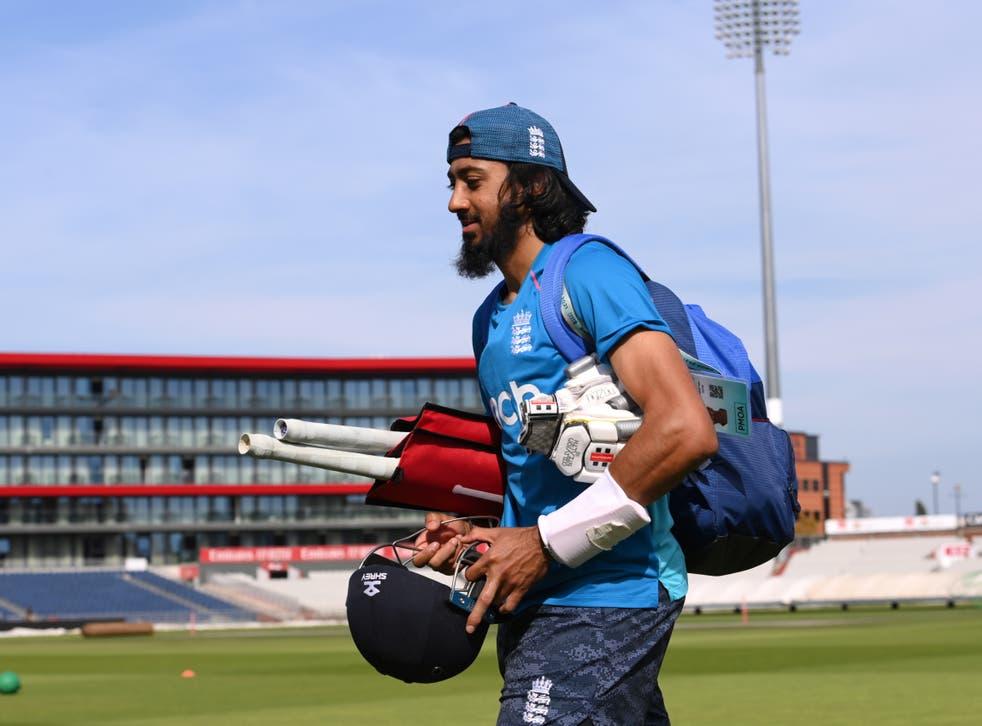 <p>England batsman Haseeb Hameed</p>