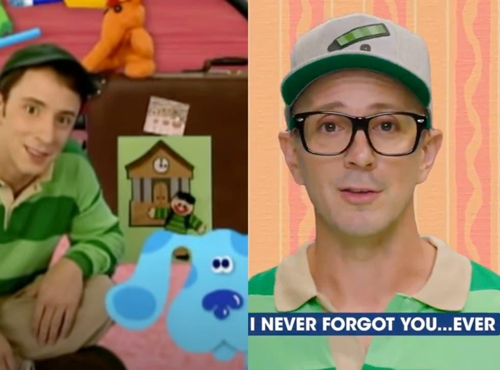 El ex presentador de Blue's Clues regresa para un mensaje sentimental en el 25 aniversario del primer episodio del programa