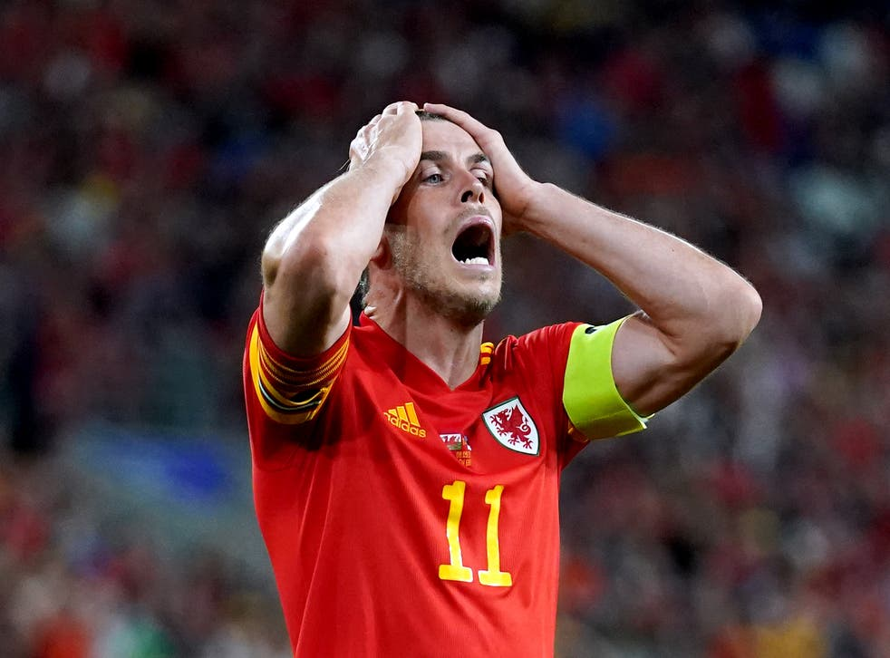 <p>Bale and Wales suffered a damaging result in their bid to reach the 2022 World Cup </p>