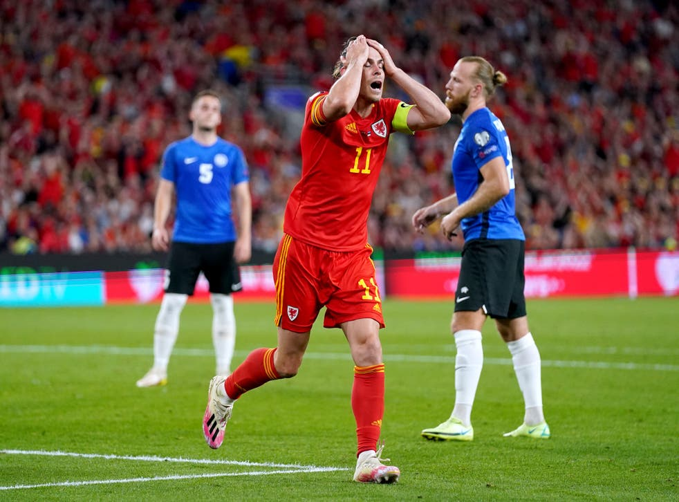 <p>Gareth Bale saw his best efforts thwarted as Wales were held to a draw by Estonia </p>