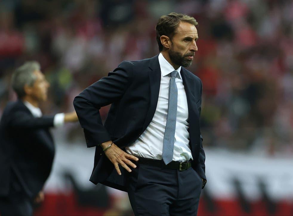<p>England manager Gareth Southgate</p>