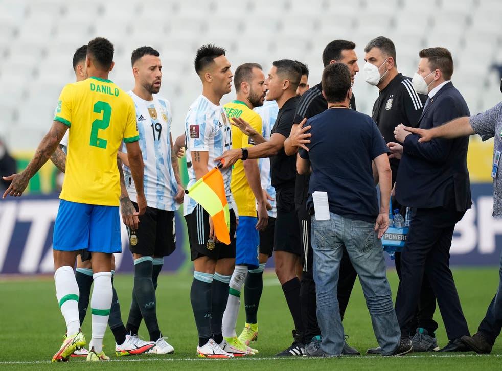 MUNDIAL BRASIL-ARGENTINA