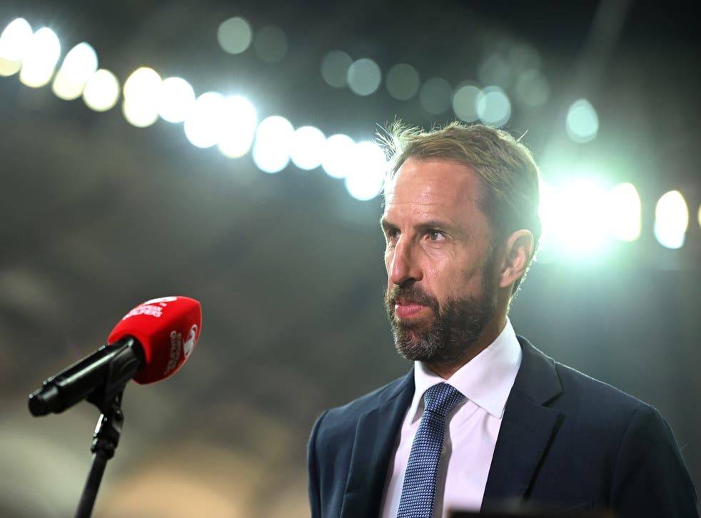 <p>England are closing in on a place at the 2022 World Cup </p>