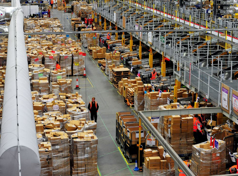 <p>File: More than 750,000 of Amazon's operations employees in the US will be eligible for fully funded college tuition fees, including costs of classes and textbooks</p>