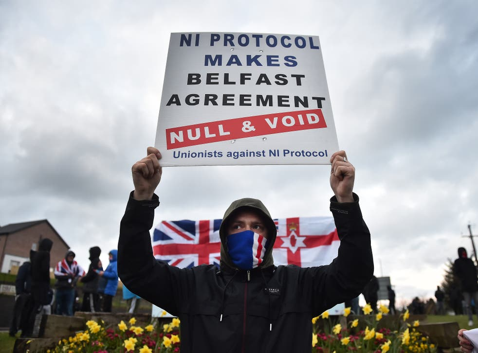 <p>The DUP, like many in Northern Ireland, finds the protocol intolerable</p>