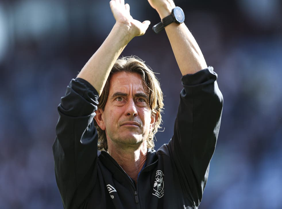 Brentford head coach Thomas Frank is expecting a stern test from Brighton, who have established themselves in the top flight (Barrington Coombs/PA)