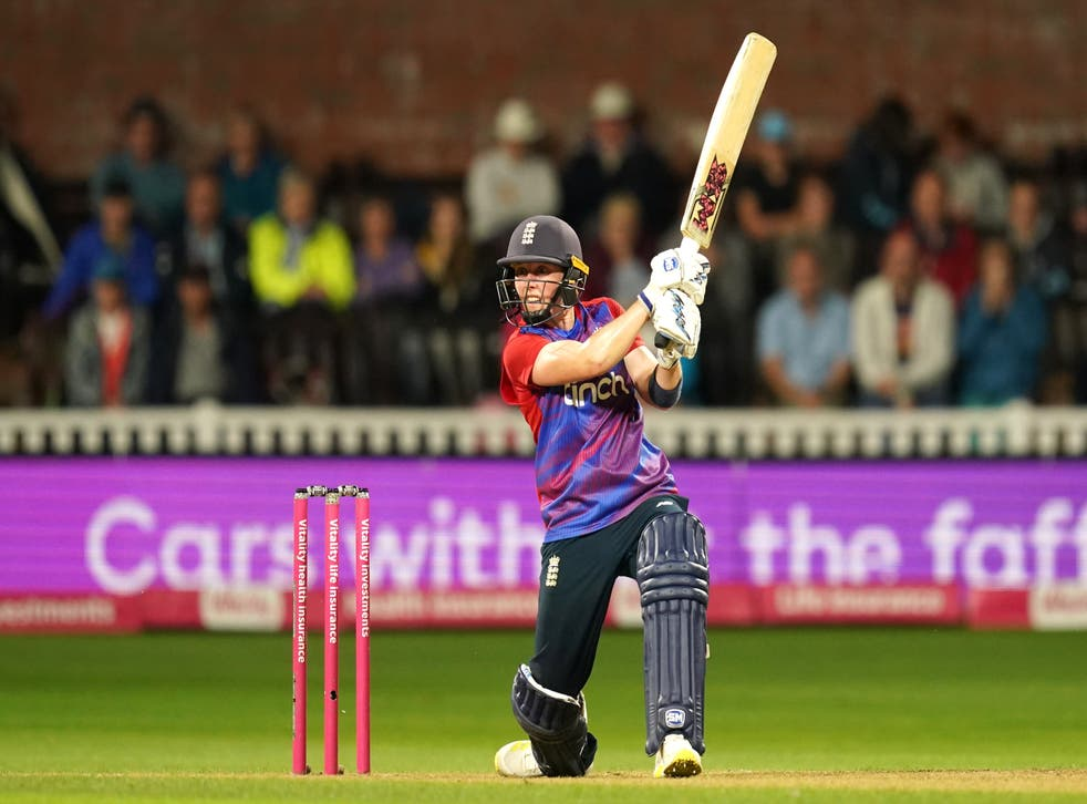 Heather Knight insisted she always thought England were in control as they clinched the T20 series against New Zealand (David Davies/PA)