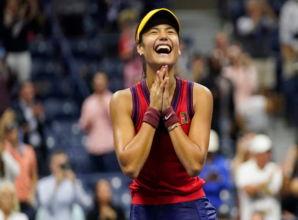 <p>Emma Raducanu is into the final of the US Open </p>