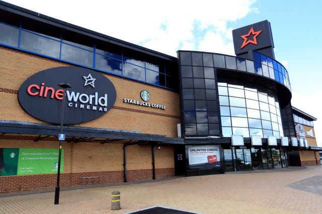 Cineworld has agreed to pay out to disgruntled former Regal shareholders (Mike Egerton/PA)