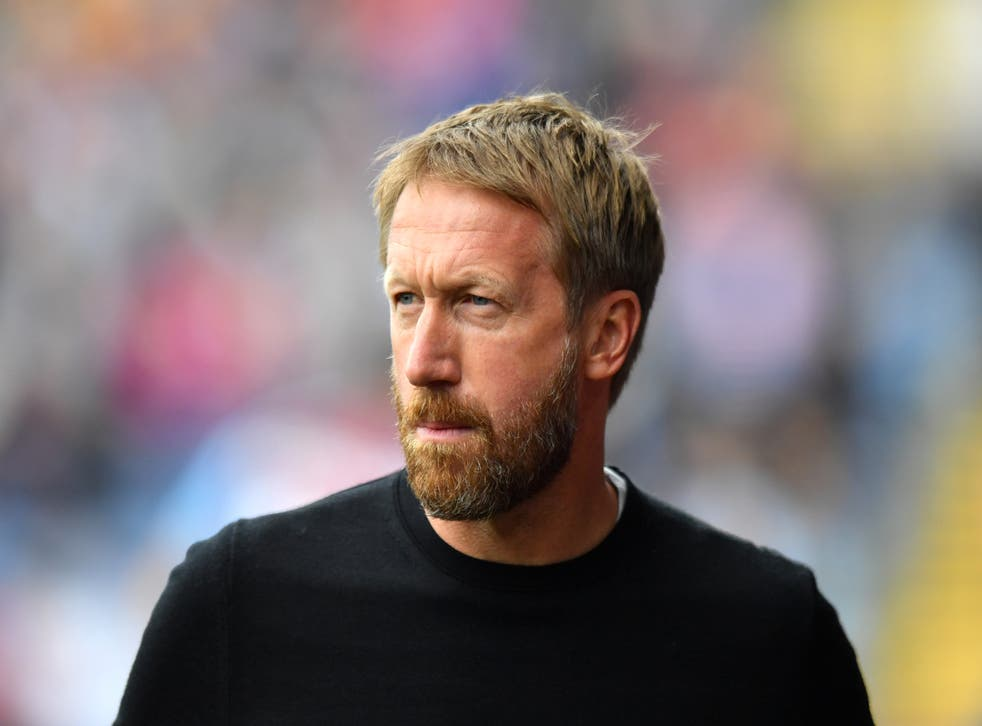 Brighton manager Graham Potter maintains there are no easy games in the Premier League (Anthony Devlin/PA)