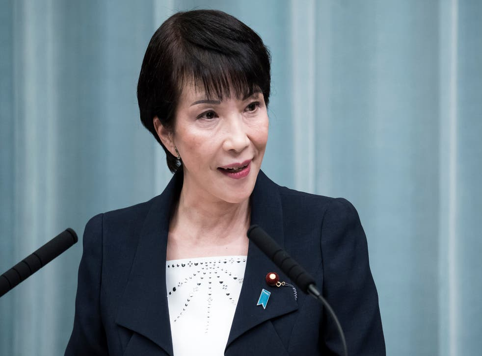 <p>Takaichi will face stiff competition from within her own party to become leader </p>