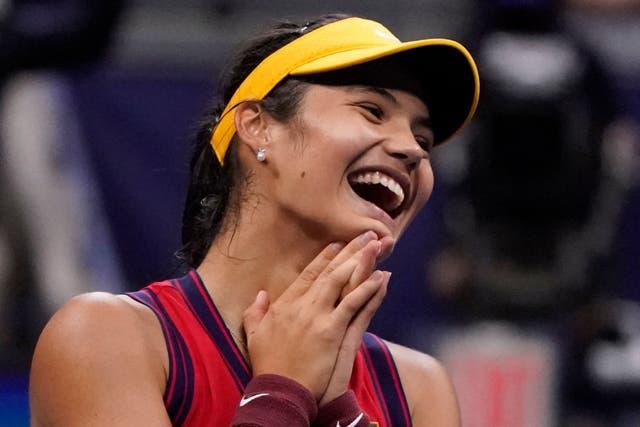 <p>Emma Raducanu is into the US Open final </p>